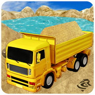 Sand pengangkutan simulator