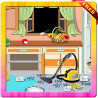 Princess  Room  Cleanup  Game