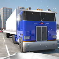 Trucker 3D Alaska Winter Roads