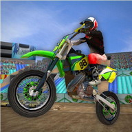 3D Motor Bike Stunt Mania