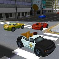 Police Car Takedown