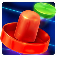 Air Hockey Glow 2 - A pocket air hockey game