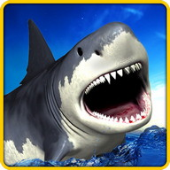 Angry Shark Simulator 3D - Play an angry shark who's really hungry