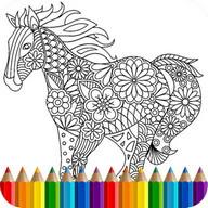 Livre coloriage animal Mandala