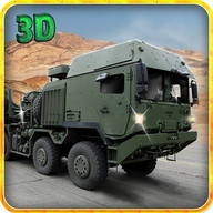 Army Truck Cargo Transport 3D