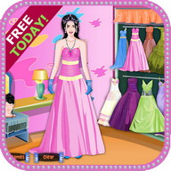 Autumn Princess Dress Up - Help this princess get ready to go out tonight