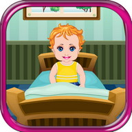 Baby is sick Girls Games