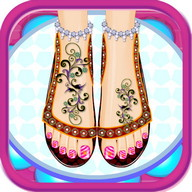 Beauty Salon Nail Games