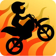 Bike Race Free - Two-dimensional races and tricks on a bike