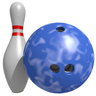 Bowling Online 3D - A bowling game in which you can compete against other players