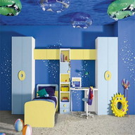 Boys room Idea - Tile puzzle