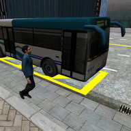 3D City driving - Bus Parking