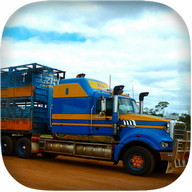 Car Transporter Truck Driving