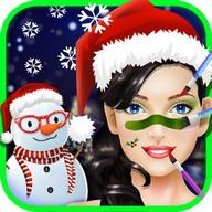 Christmas MakeUp Spa Salon