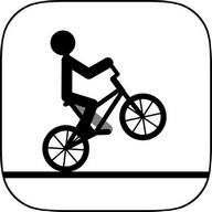 Draw Rider - Minimalist and fun bicycle game where winning is a challenge