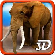 3D sauvage Elephant Simulator