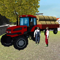 Farming 3D: Hay Transport