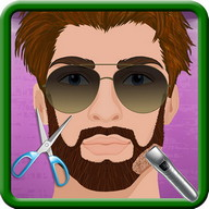 Beard salon girls games