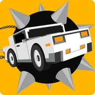 Flail Rider - A car, a chain, and a huge wrecking ball