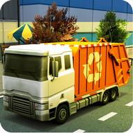Sampah Truck Simulator 2015