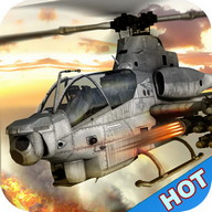 Gunship Helicopter Air Battle