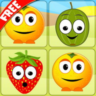 Memory Fruits - Look for each fruit's pair in this addictive game
