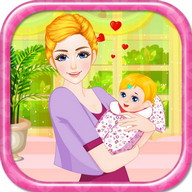 Mother birth baby games