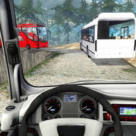 Mountain Tourist Bus Drive