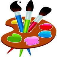 絵画や子供のための描画