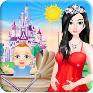 Princess Give Birth to a Baby