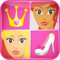 Princess Memory Game for Girls