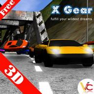 los coches de carreras en 3D