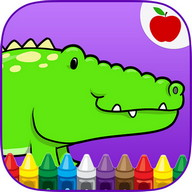 Reptiles Kids Coloring Game