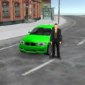 Rome Empire Crime City Car 3D