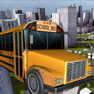 Conductor Autobus Escolar 3D