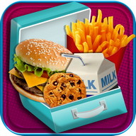 School Lunch Maker - Kids Food & Snacks Games