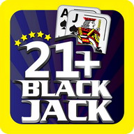 Blackjack 21+ Casino Card Game