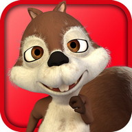 Run Squirrel - Fun Park Racing