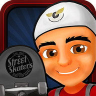 Street Skateboard Run