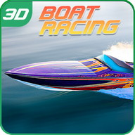 Super Crazy PowerBoat Racing3D