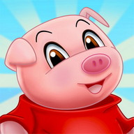 Three Little Pigs - Fairy Tale with Games Free
