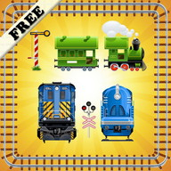 Train Puzzles for Toddlers