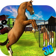 Wild Horse Fury - 3D Game