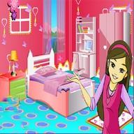 العاب بنات تزيين الغرفة