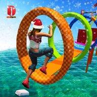 New Water Stuntman Run 2019: Water Park Free Games