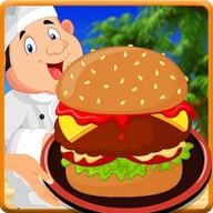 Burger Shop Restaurant : Burger Maker Cooking Game