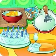 Cooking Cream Cake Birthday