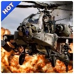 Gunship Helicopter Air Attack