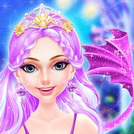 Mermaid Princess Fashion Doll Makeup Salon