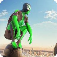 Rope Frog Ninja Hero - L'étrange gangster de Vegas